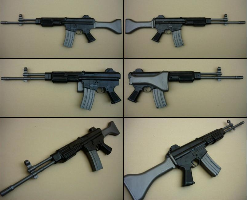 K2 rifle