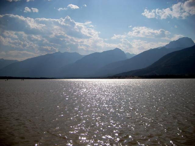 Unknown Lake in Jasper 재스퍼의 이름 모를 호수