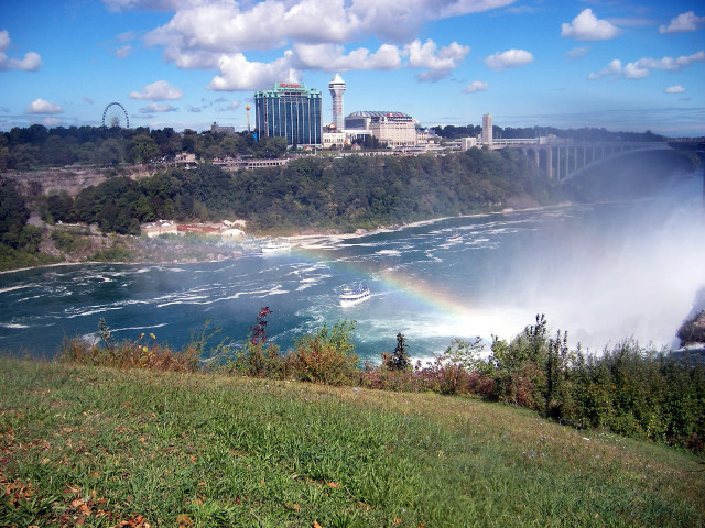 Maid of Mist from Far