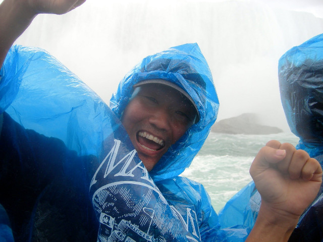 On the Maid of Mist boat