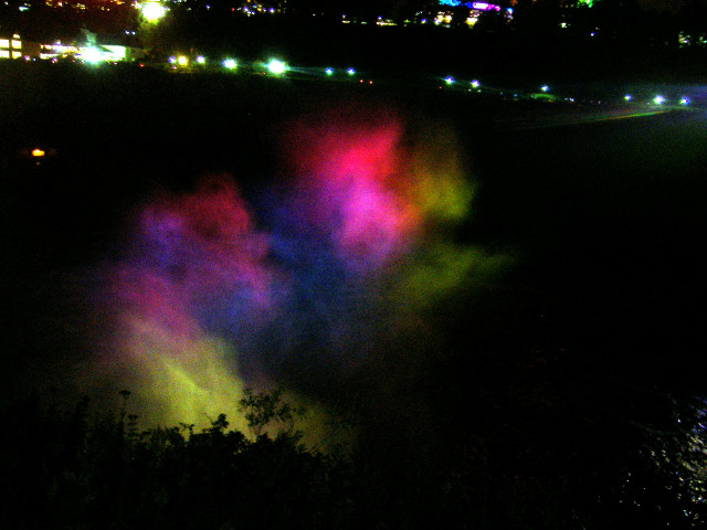 Colourful light from Canada