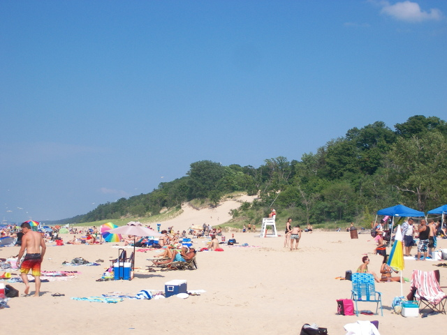 Indiana Dunes, Dune side view
