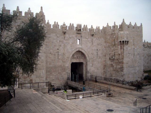 Damascus Gate - one of the major access to Old City Jerusalem