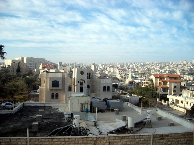 View of Bethlehem from the Hotel