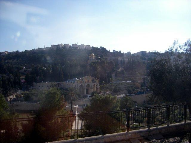 Gethsemane from Mount Olive