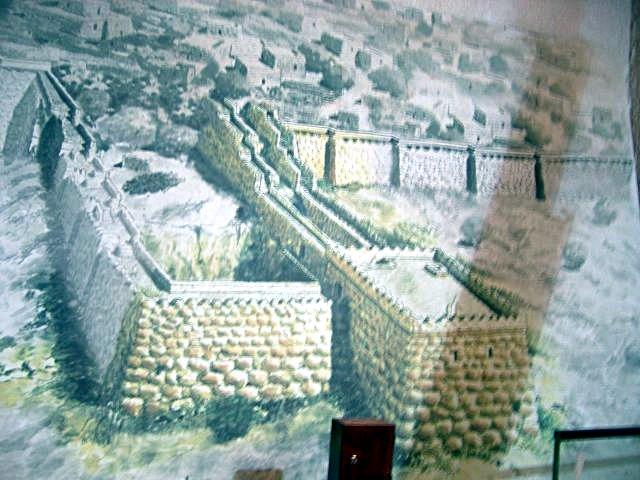 Hezekiah Wall Image