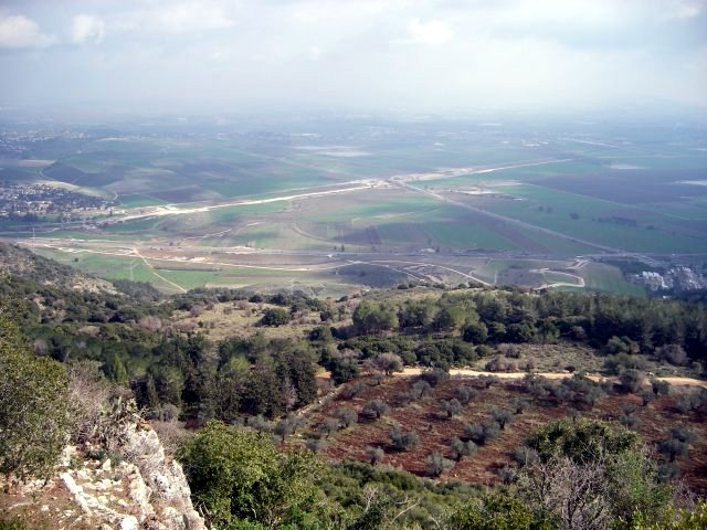 View from the Mount Carmel