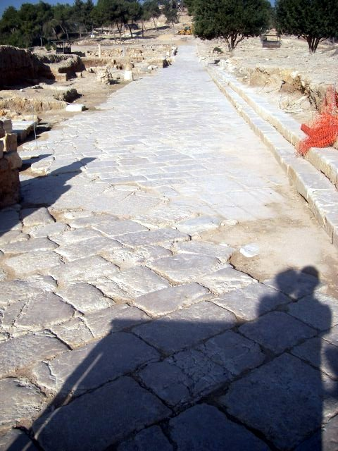 Roman Paved Road