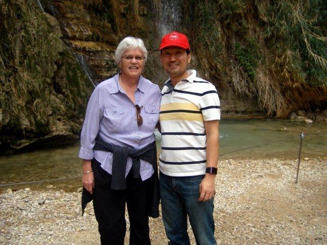 With Paula Hiebert