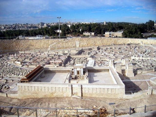 Jerusalem Model 1:50 Scale