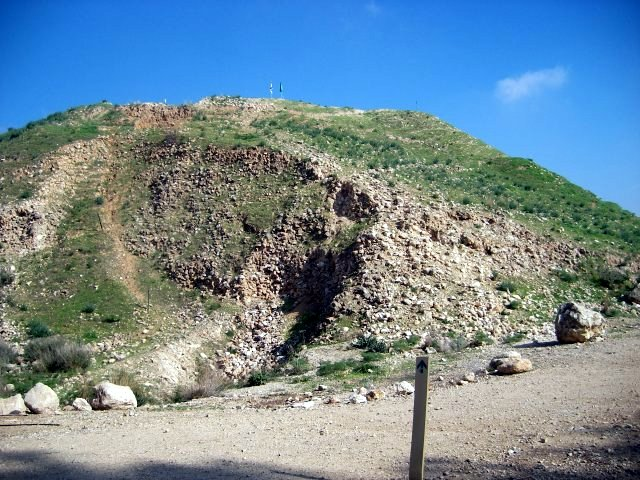 Lachish Ramp by Assyrians