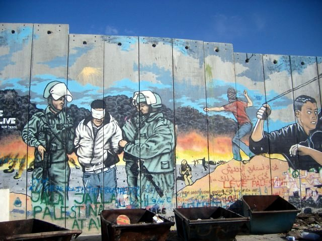 Graffiti on Separation Wall