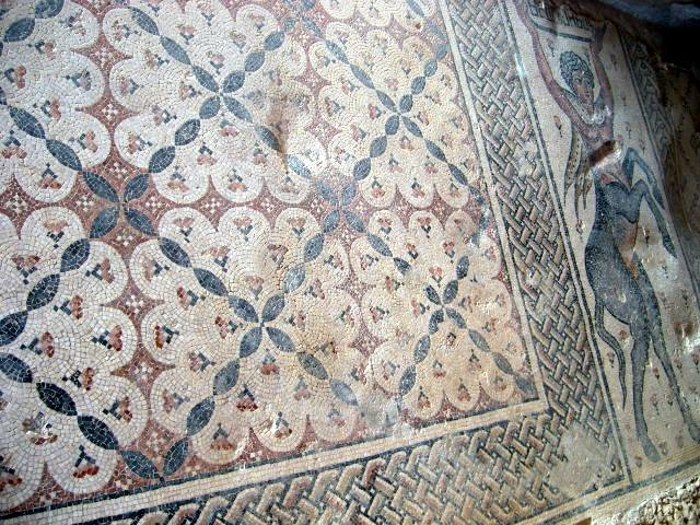 Nile House Floor Mosaic