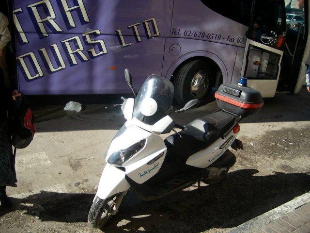 Tourist Police Bike
