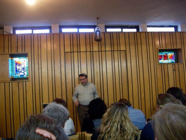 Jewish Settler Speaking