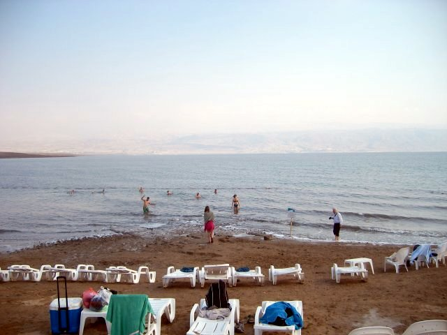 Dead Sea Kalia Beach