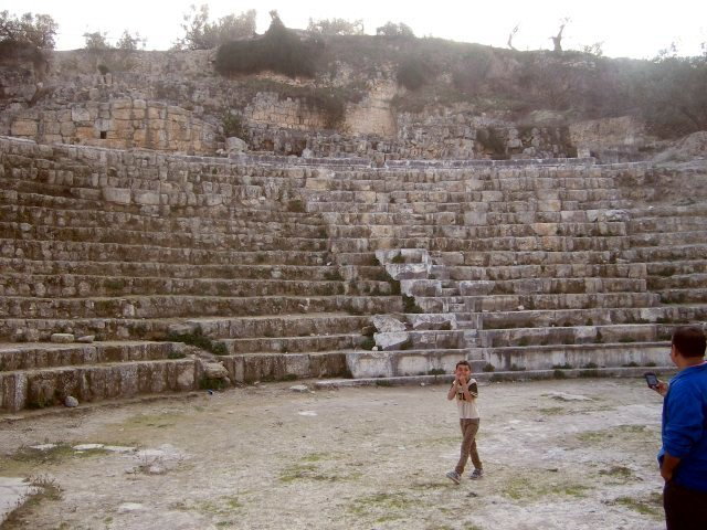 Theatre built by Herod
