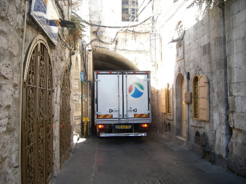 Narrow Road in the Old City
