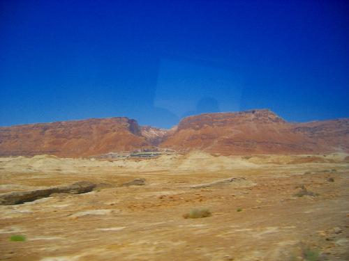 Masada from afar