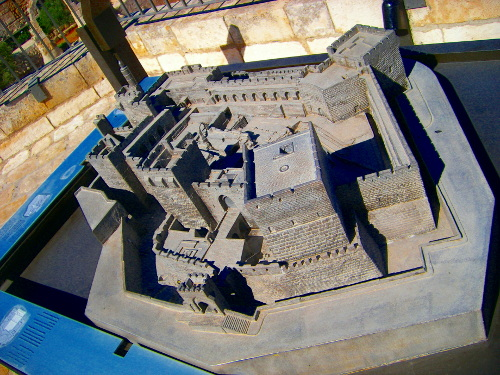 Model of the Tower of David