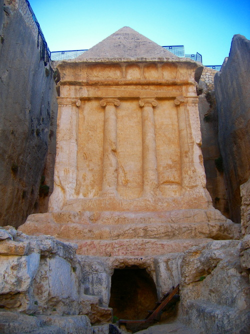 Zechariah's tomb