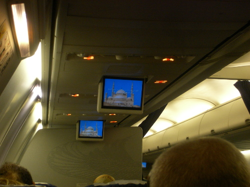 Muslim Prayer in the plane
