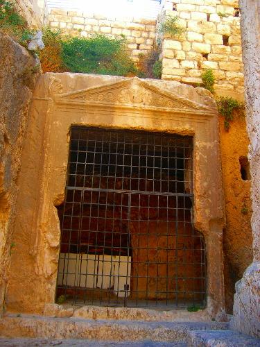 Jehoshaphat's cave