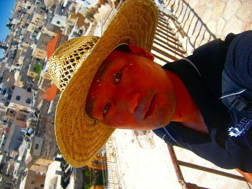 Selfie above the Damascus Gate