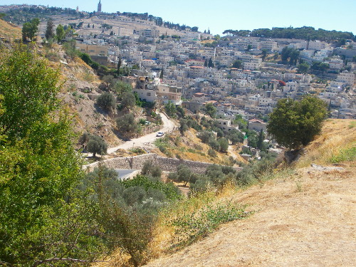 Hinnom and Kidron Valley Together