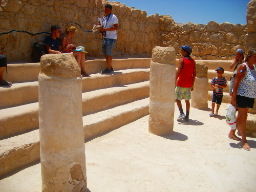Synagogue on Masada