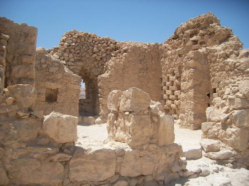 Dovecot on Masada