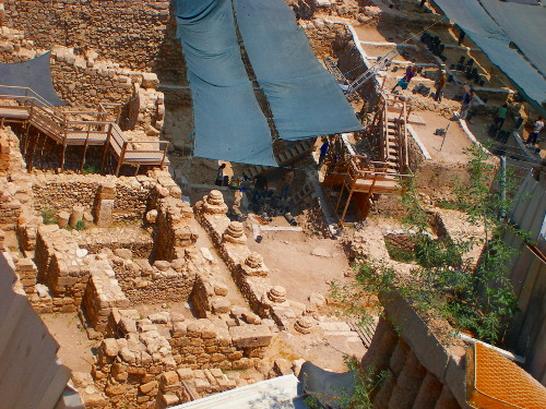 Excavation on the City of David