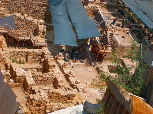 Excavation on the City of David