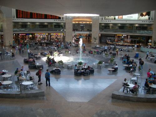 Ben Gurion Airport, Tel Aviv, Israel