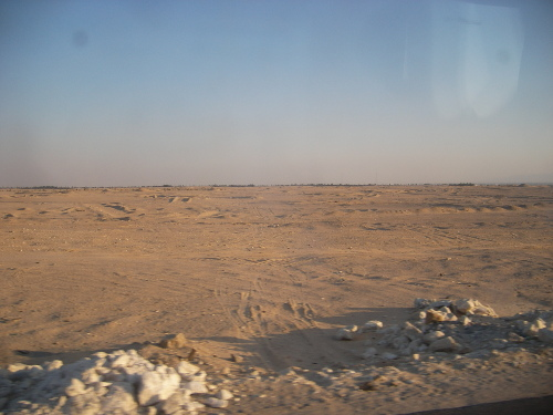 Nothing to See on the way to Cairo