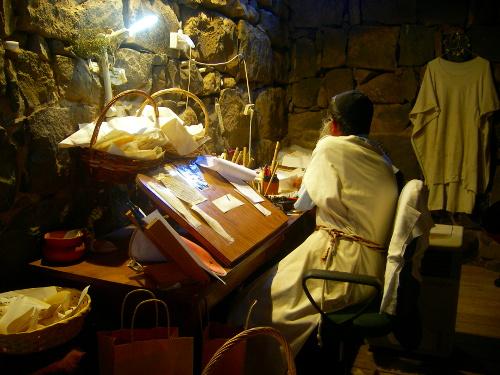 Scribe in Qazrin