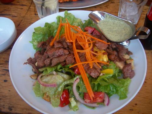 Focaccia Salad
