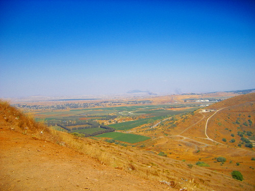 View from Golan Heights
