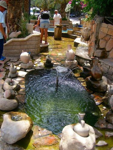 Elisha's water