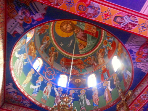 Ceiling of the Greek Orthodox Church