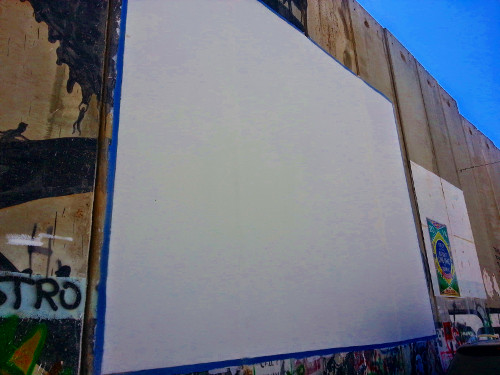 Wall becomes canvas
