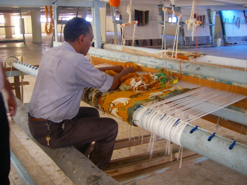 Traditional Carpet Making