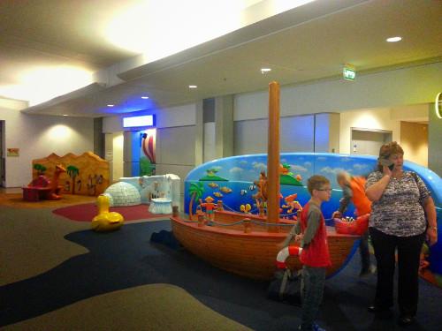 Playground at Ben Gurion Airport